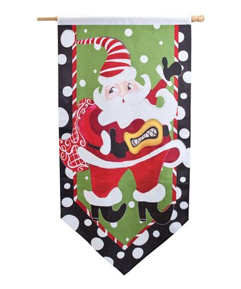 Silvestri Santa's Helper Outdoor Flag
