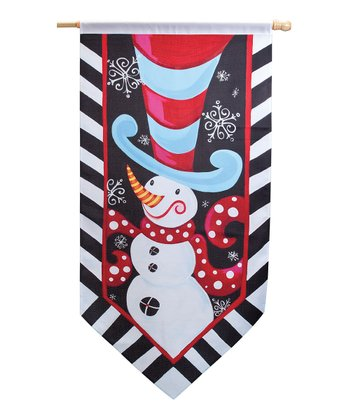 Silvestri Frosty Friend Outdoor Flag