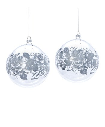 Silvestri Floral Ornament Set