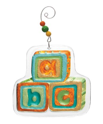 Silvestri 'ABC' Blocks Ornament