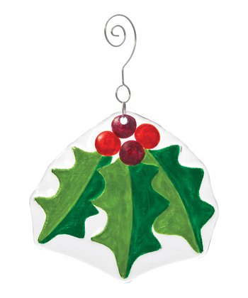 Silvestri Three-Leaf Holly Ornament
