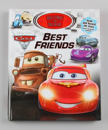 Cars 2 Best Friends Record-A-Book Hardcover
