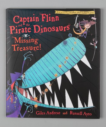 Captain Flinn & the Pirate Dinosaurs: Missing Treasure! Hardcover