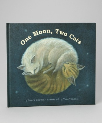 One Moon, Two Cats Hardcover