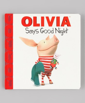 Olivia Says Good Night Hardcover