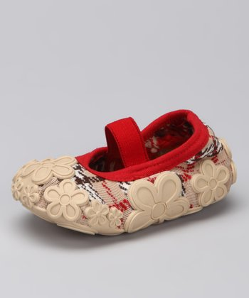 Burberry Flower Baby Dolls Grippy Booties