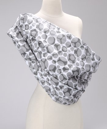 Simply Good Black & White Circle Snugly Sling