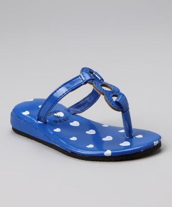 Blue Heart Iva Sandal