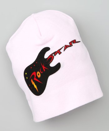 Pink 'Rock Star' Tattoo Beanie