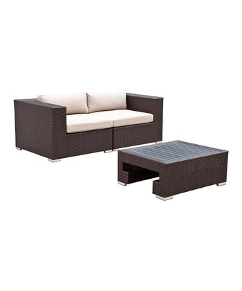 Pacific Deep-Seating Three-Piece Furniture Set