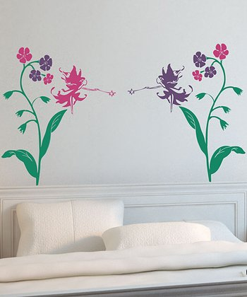 Sissy Little Fairy Headboard Wall Decal