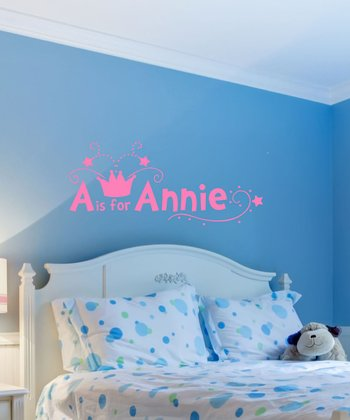 Bubble Gum Personalized Wall Decal