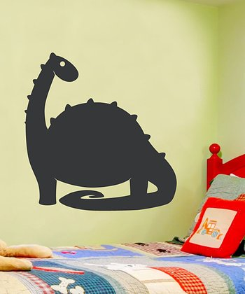 Black Dino Chalkboard Wall Decal