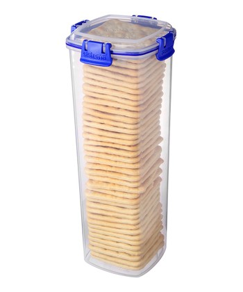 Blue 61-Oz. KLIP IT Cracker Container