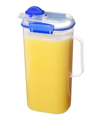 Blue KLIP IT Juice Jug