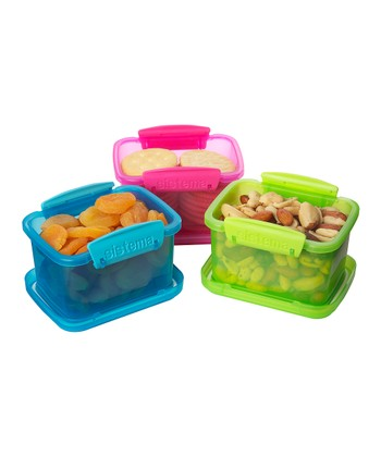 Color Block Small KLIP IT Container Set