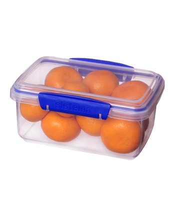 Blue 33-Oz. KLIP IT Container - Set of Three