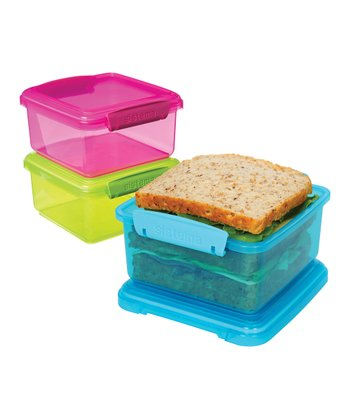 Color Block KLIP IT Lunch Plus Box Set
