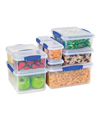 Blue 10-Piece KLIP IT Container Set