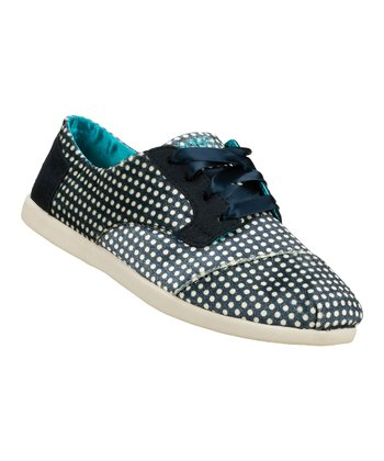 Navy Polka Dot BOBS World Give & Get Sneaker