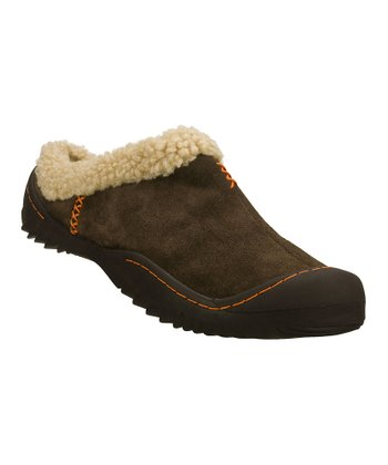 Brown Spartan Snuggly Comfort Clog