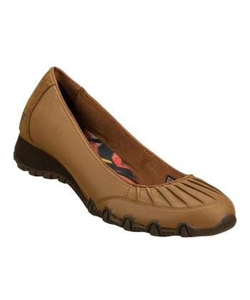 Light Brown Shy Girl Wedge - Women