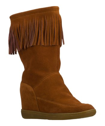 Rust A Fringe Ahead Boot