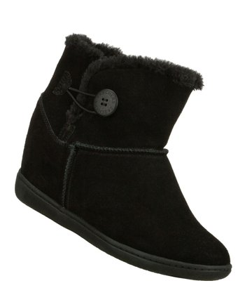 Black Cozy Up Boot