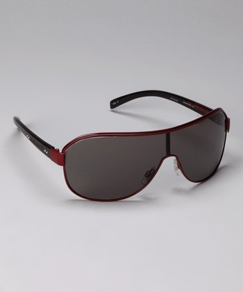 Red 5003 Shield Sunglasses