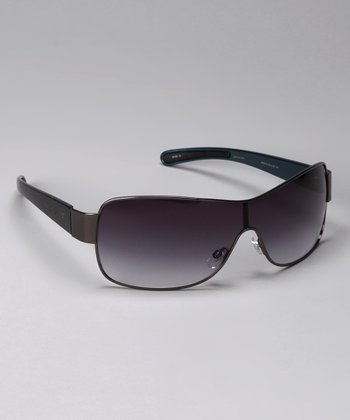 Gunmetal 5016 Shield Sunglasses