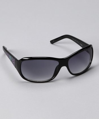 Black Floral 4024 Sunglasses