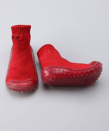 Ruby Red Gripper Shoe