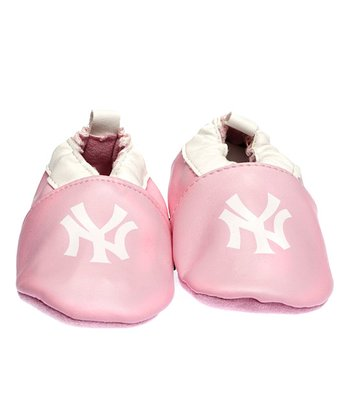 New York Yankees Pink Bootie - Kids