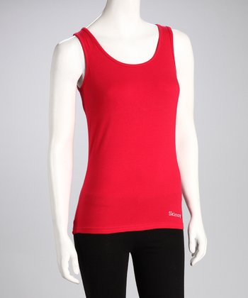 Cherry Red Tank - Women