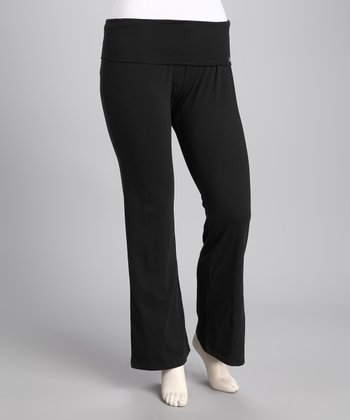 Black Yoga Pants - Women