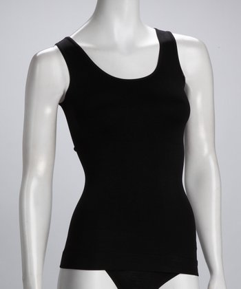 Black Shaper Tank - Women