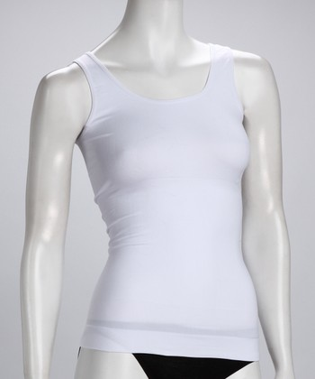 White Shaper Tank - Women