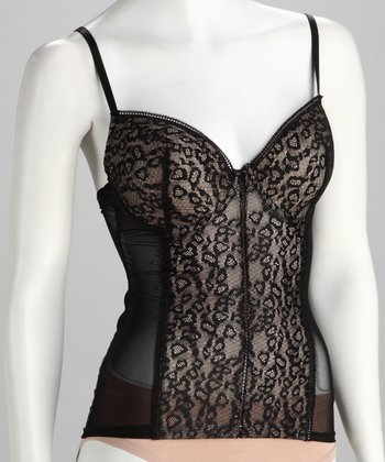Black Lace Shaper Camisole - Women