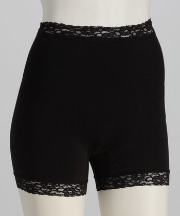 Black Shaper Shorts - Women
