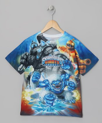 Blue 'Skylanders Giants' Sublistatic Tee - Kids