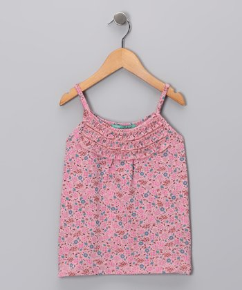 Lotus Blossom Tank - Toddler & Girls