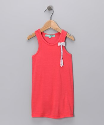 Coral Bow Tunic - Toddler & Girls