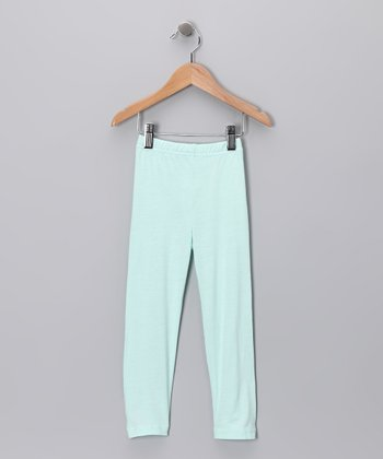 Aqua Leggings - Toddler & Girls