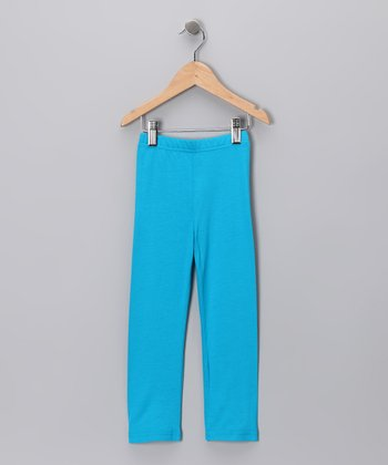 Blue	Leggings - Toddler & Girls