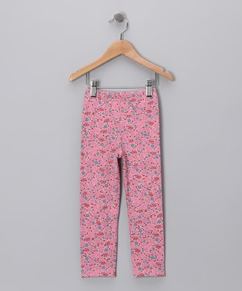 Lotus Blossom Leggings - Toddler & Girls