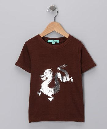 Brown Dragon Tee - Toddler & Boys