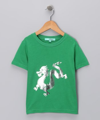 Emerald Dragon Tee - Toddler & Boys