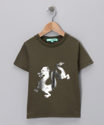 Forest Dragon Tee - Toddler & Boys