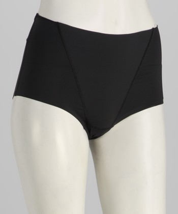 Black Shaper Briefs - Women