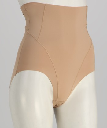 Nude High-Waisted Shaper Brief - Women